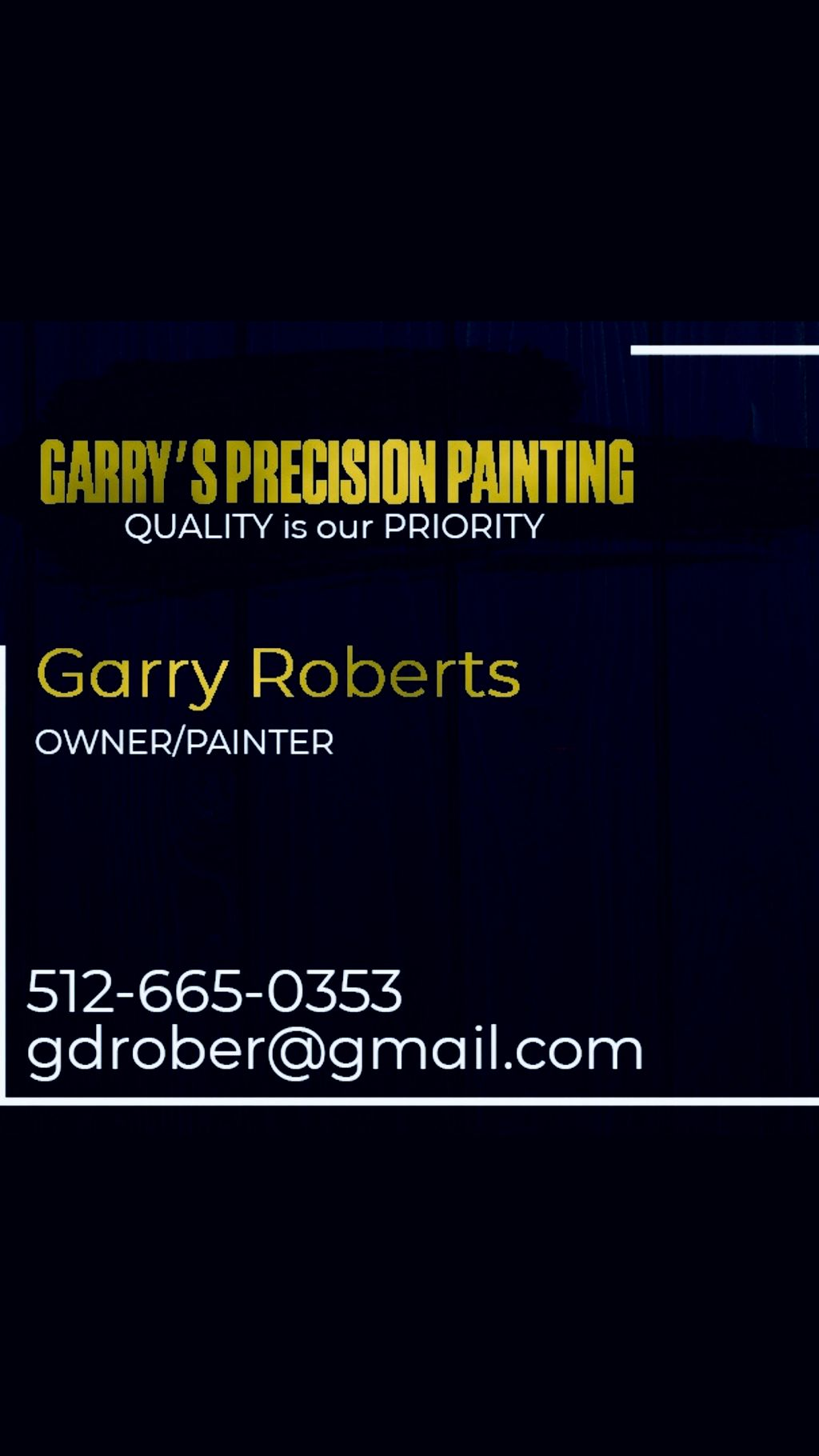 Garry's Precision Painting & More