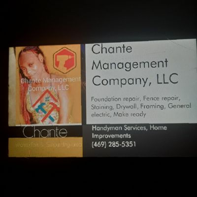 Avatar for Chante Management Company