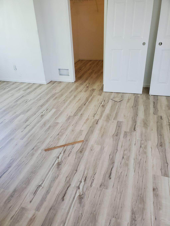 Whole house flooring install
