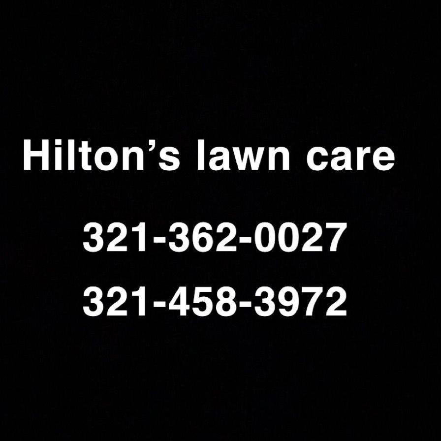 Hilton's lawn care