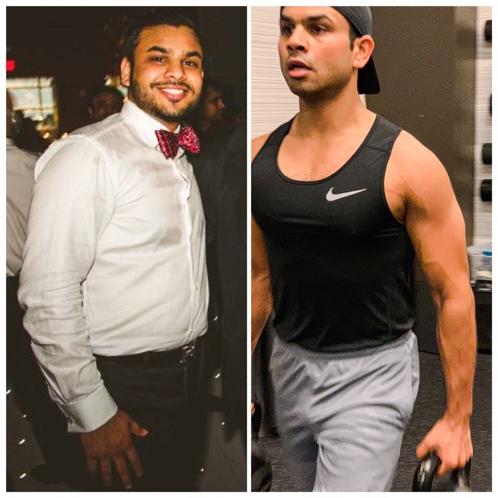 Narayan 18 Month Transformation