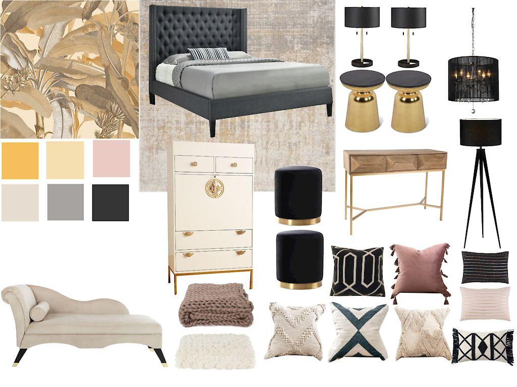 Blush Master Bedroom