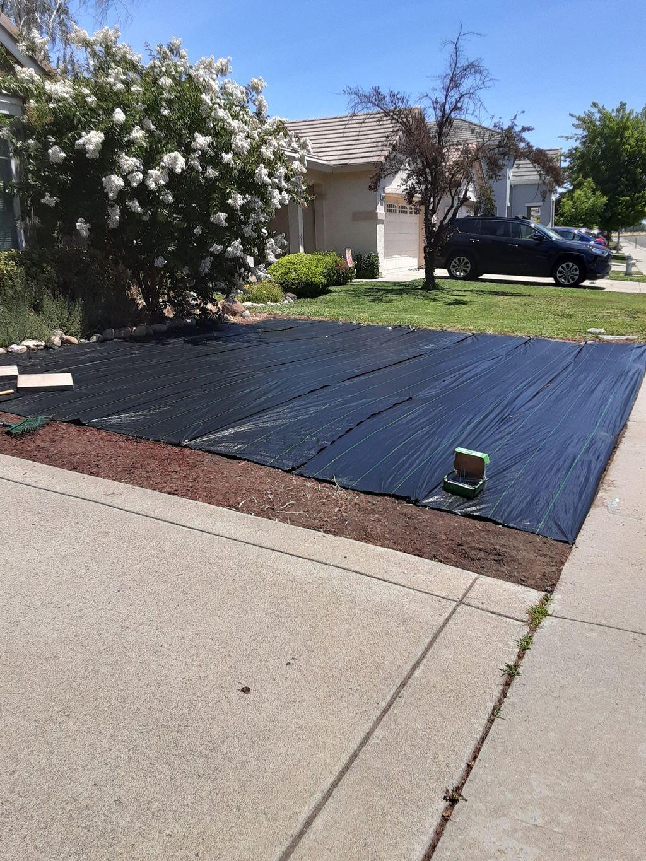 Make new front yard