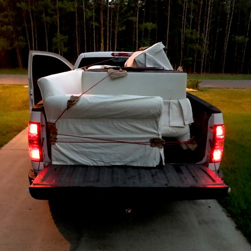 Furniture moving from Magnolia, TX to Houston, TX