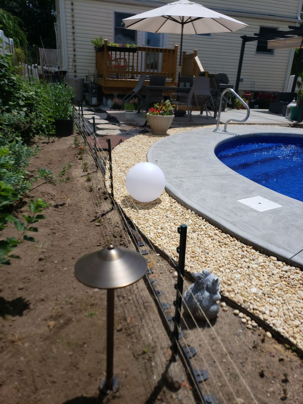 Pool &landscape lights