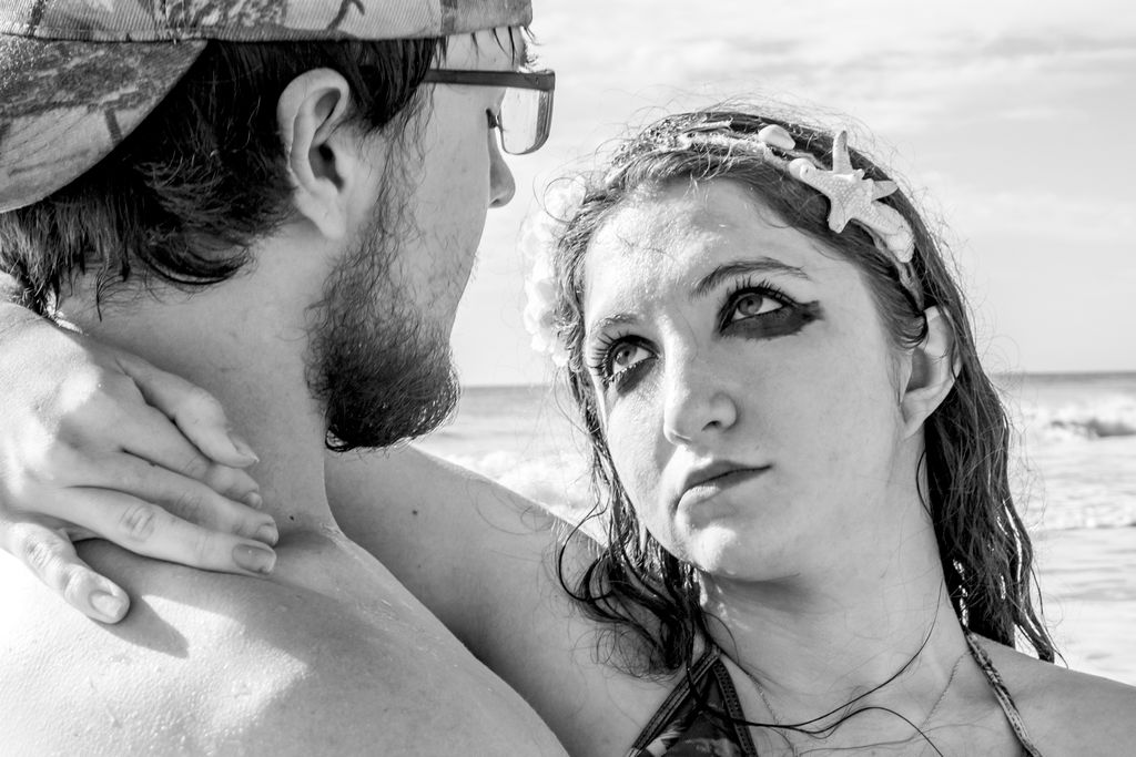Couple's Mermaid shoot