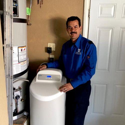 Javier, water treatment specialist