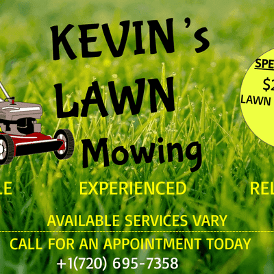 Avatar for Kevin's Lawn Mowing