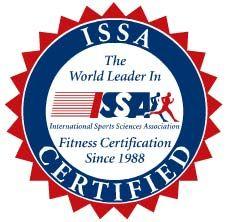 ISSA certified trainer