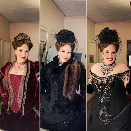 My gorgeous costumes for our production of Rusalka at San Francisco Opera where I played the Foreign Princess 2019