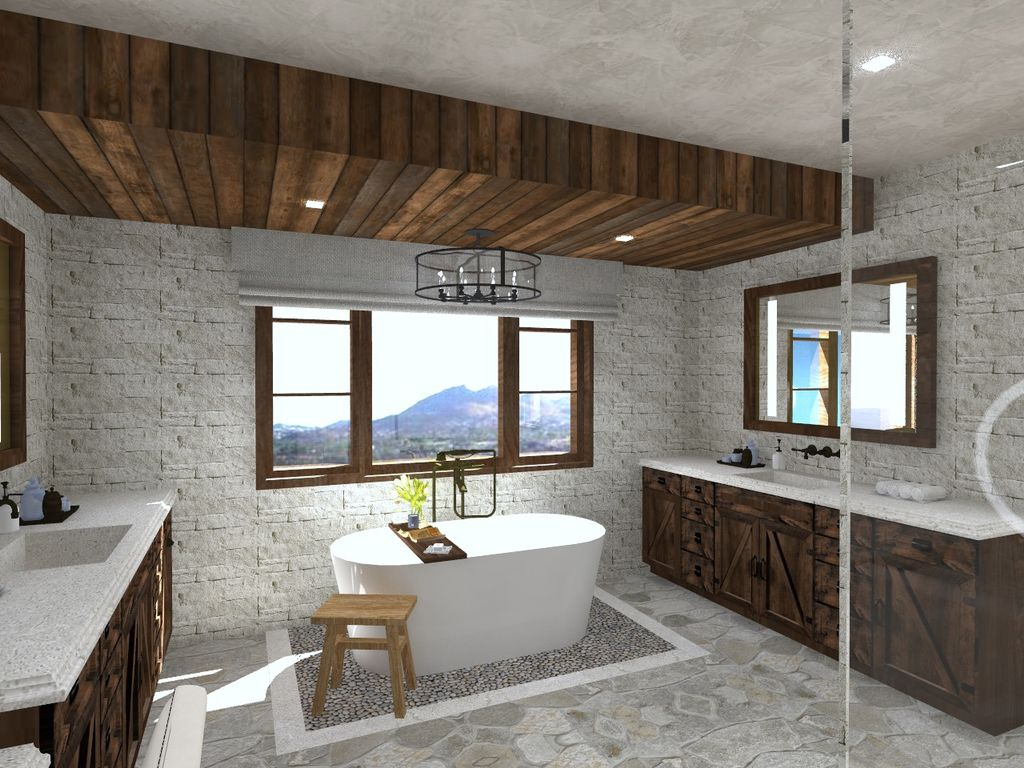 Rustic Tuscan New Home