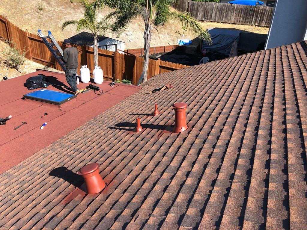 Angelo Patio roof