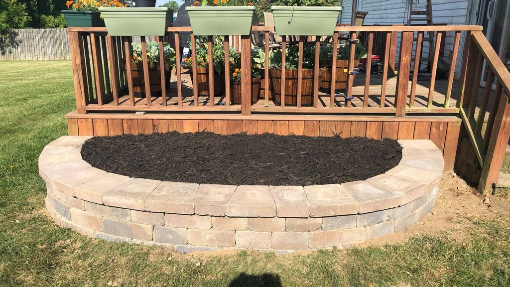 Outdoor Landscaping and Patio -Saint Joseph 2020
