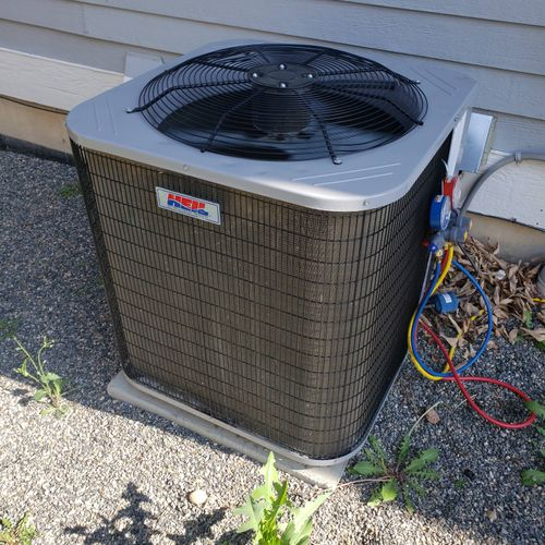 Low charge on this AC. Fixed same day.