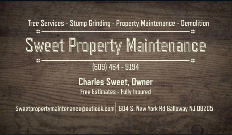 Sweet property maintenance