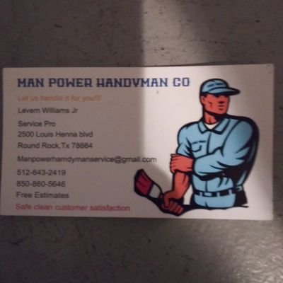 Avatar for Manpower Handyman and Hauling Co.