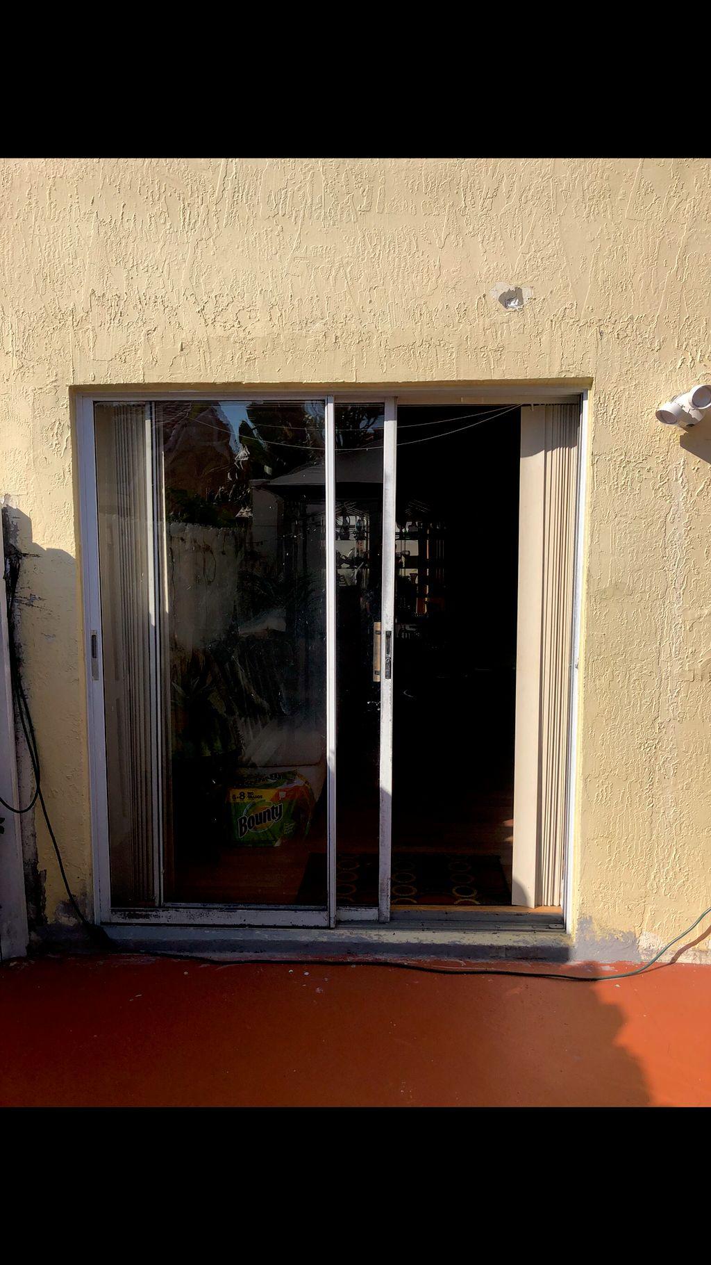 French patio door installation