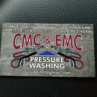 Avatar for CMC & EMC PRESSURE WASHING SERVICE
