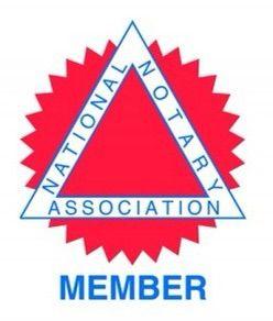 National Notary Association member.