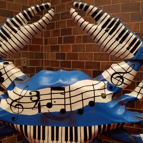art at the BSO --Maryland is for crabs!