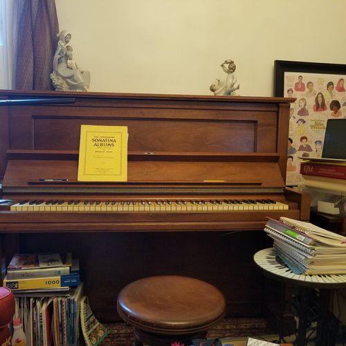 coronavirus piano studio