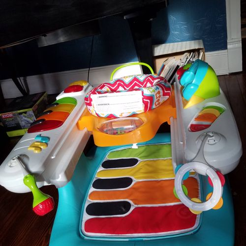 Even my grandson gets to play piano!