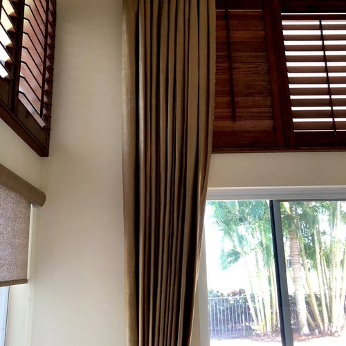 Drapes Cleaning