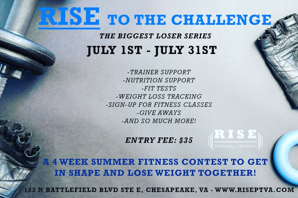 RISE to the Challenge - Biggest Loser Series