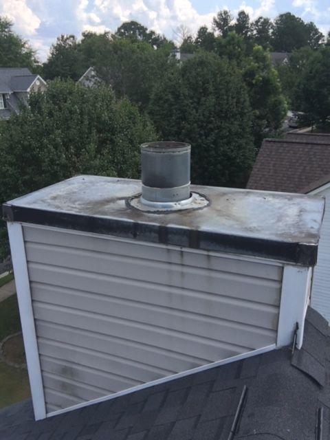 Rain pan fabrication and installation