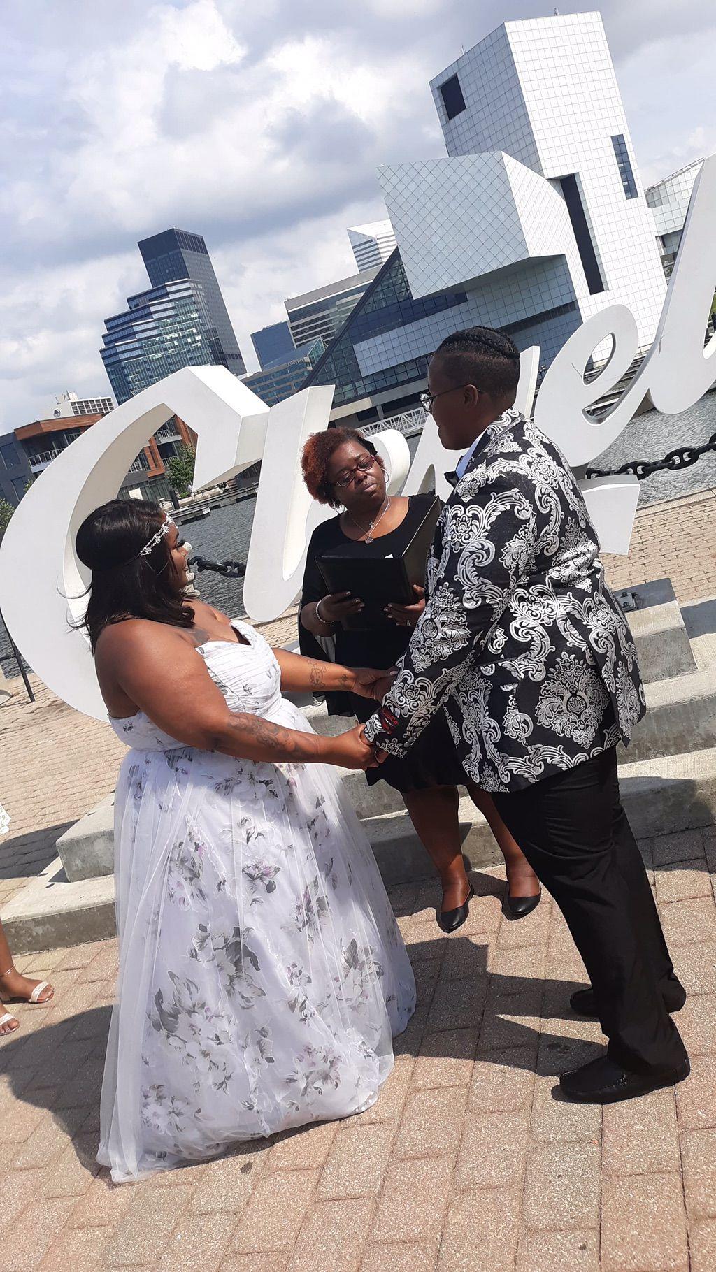 Martin Lake Front Wedding