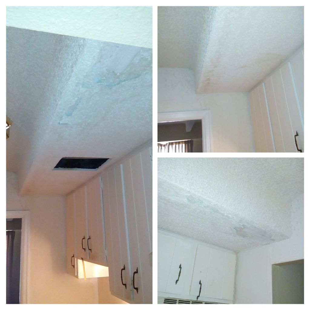 Patching drywall, texture and paint