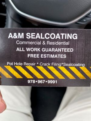 Avatar for A&M Sealcoating