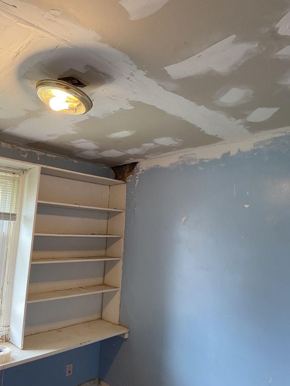 Bedroom Drywall repair & interior painting