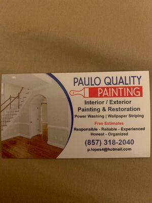 Avatar for Paulo Quality  Painting Cleaning