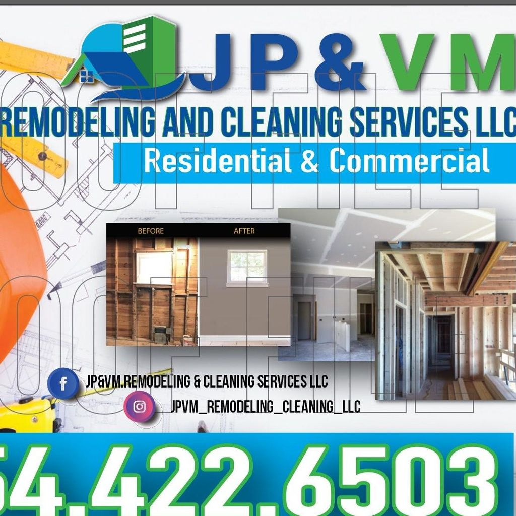 JP&VM remodeling and cleaning servicesLLC