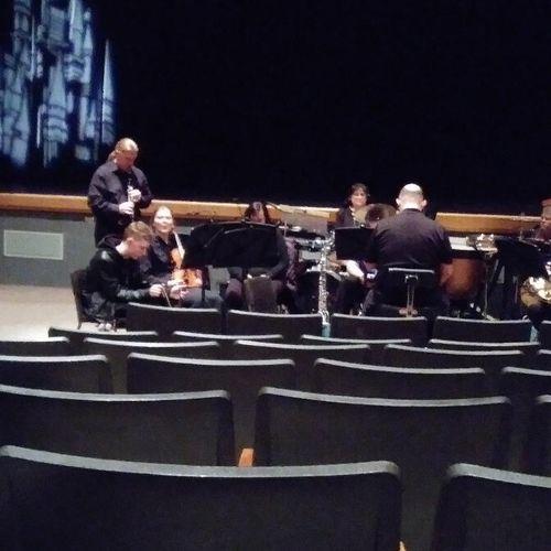 Pit orchestra fun