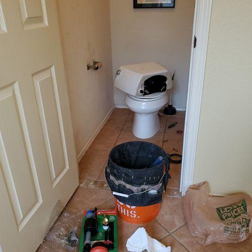 Kohler toilet repair