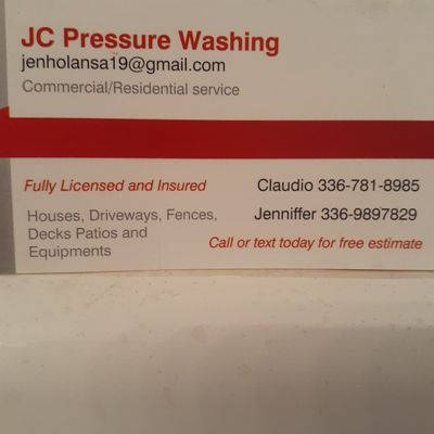 Avatar for JC Pressure Washing