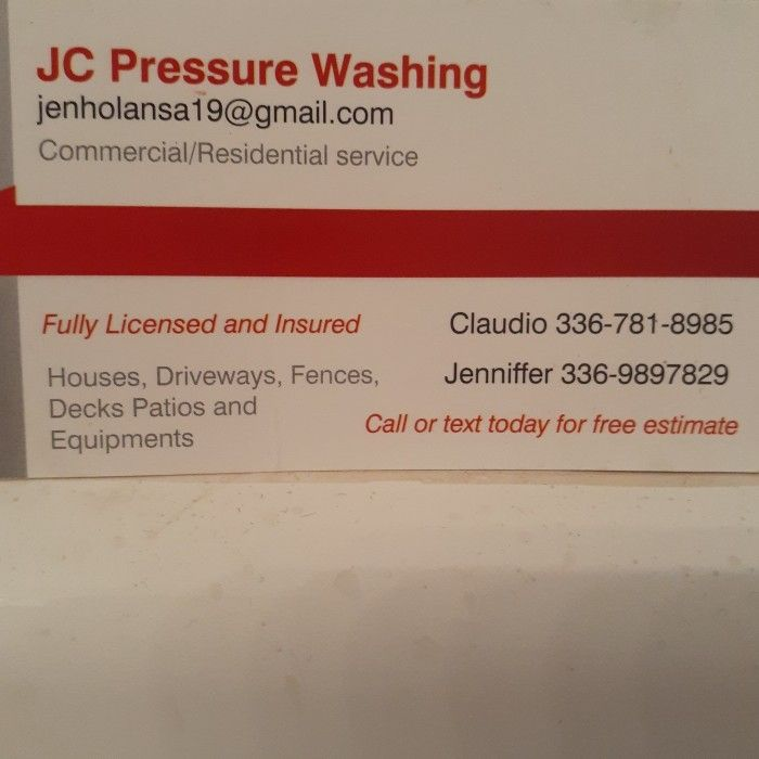 JC Pressure Washing