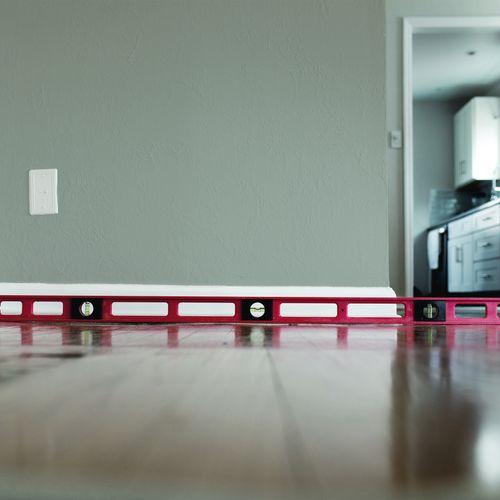 Repair Sagging floors