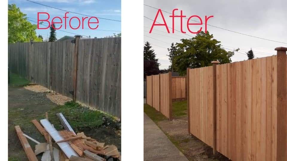 New Fence Instalation