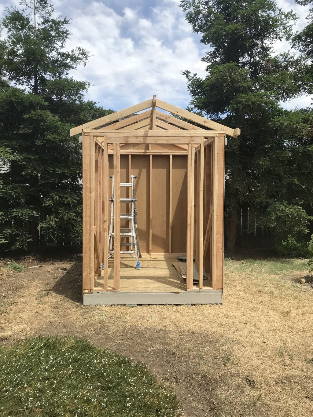 6x8 Gable roof shed