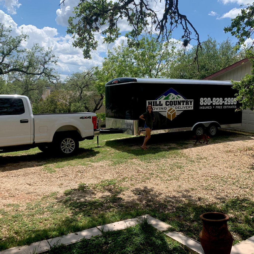 Hill country moving and delivery