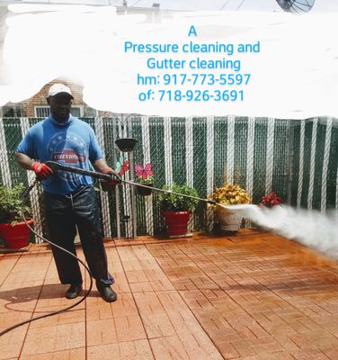 """Avatar for """"A pressure cleaning and gutter cleaning"""""""