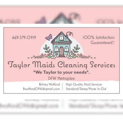 Avatar for Taylor Maids Cleaning Services