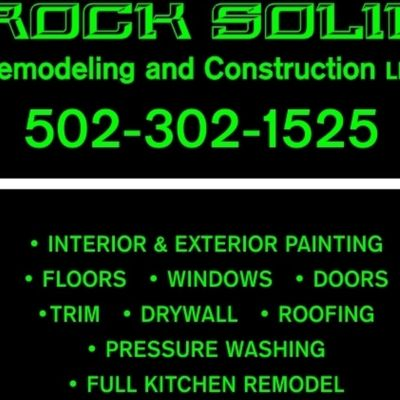 Avatar for Rock solid remodeling & construction