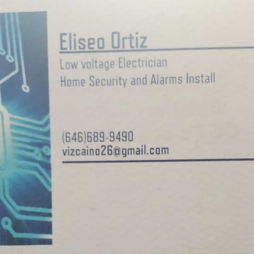 Electrical and Home security installer