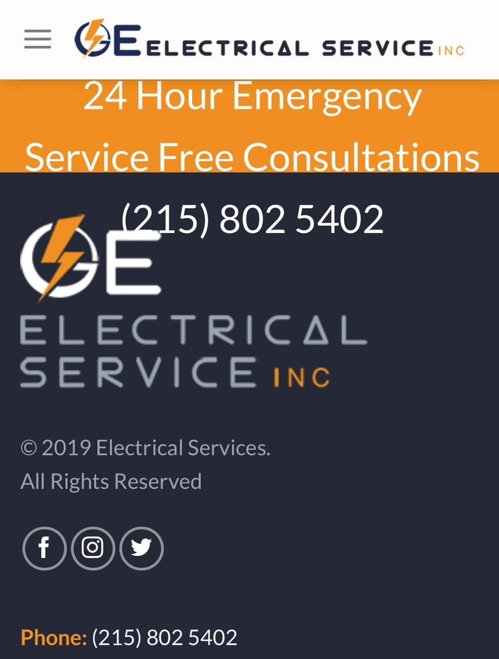 GE ELECTRICAL SERVICES INC