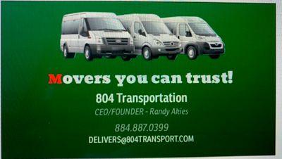 Avatar for 804 Transportation
