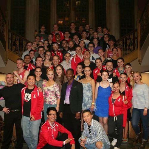 My Ohio State University Dancesport team